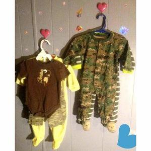 Baby boy clothes lot clothed bundle 5 pcs